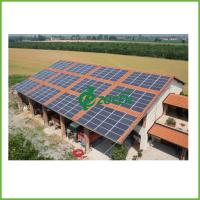 Buy cheap Residential / Camping 17KW Grid Connected Solar System With Aluminum Bracket from wholesalers