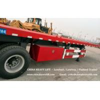 Buy cheap CHINA HEAVY LIFT - Flatbed Container Trailer from wholesalers