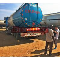 Buy cheap Tri Axle Fuel Tank Semi Trailer 45000 Liters Volume Muilti Compartments from wholesalers