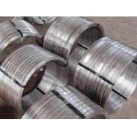 Buy cheap Industrial 321 Stainless Steel Forgings , Forged Rolled Rings ASTM JB4728 DIN EN product