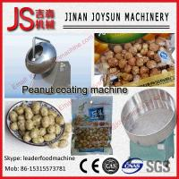 Buy cheap 2 KW Peanut Coating Machine For Spiced Peanuts , Chocolate Peanuts from wholesalers