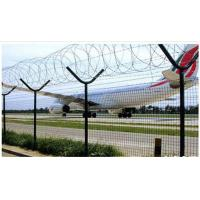 Buy cheap High Protective Anti Climb Security Fence , Barbed Wire Fence For Railway / Highway from wholesalers