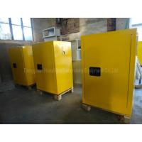 Buy cheap Slip Resistant Lockable Chemical Safety Cabinet 150kg Loading Capacity from wholesalers