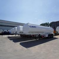 Buy cheap 44,000 liters oil trailers oil tank trailer crude oil tanker semi trailer for sale | CIMC TRAILERS from wholesalers