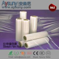Buy cheap LLDPE stretch film roll Shrink wrapping film material for pallet package from wholesalers