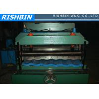 Buy cheap Color Steel Metal Roofing Roll Forming Machine With Hydraulic Pressing For Step Tile from wholesalers