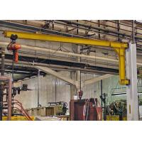 Buy cheap 2T Wall Mounted Jib Crane , Small Jib Arm Crane With Electric Wire Rope Hoist from wholesalers