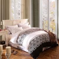 Buy cheap Home Textile King Size Cotton Bedding Sets Beautiful Design Washable from wholesalers