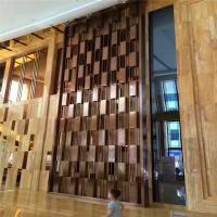 Buy cheap Modern Huge metal screen for decorative panel in hotel or restaurant metal work project from wholesalers