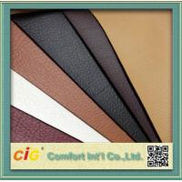 Buy cheap 1.37m Width Synthetic PU Leather Fabric , Fake Leather Material For Sofa / from wholesalers