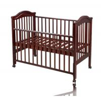 Buy cheap wooden travel cot BC029 New Zealand pine wood from wholesalers
