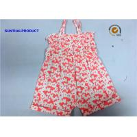 Buy cheap Single Piece Tank Newborn Baby Bodysuits Butterfly Reactive All Over Printing from wholesalers