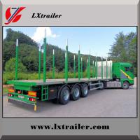 Buy cheap Factory hot sale low price wood / timber transport semi trailer truck from wholesalers