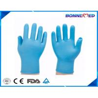 Buy cheap BM-6004 Cheap Disposable Blue Colored Powder Free Nitrile Exam Gloves from wholesalers