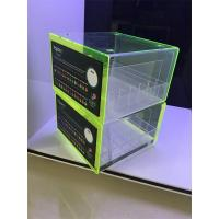 Buy cheap PMMA rack display show acrylic clear e-liquid juice acrylic display stand from wholesalers