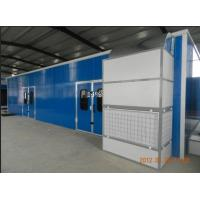 Buy cheap Infrared Downdraft Furniture Spray Booth Equipment , 6KW 380V from wholesalers