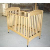 Buy cheap Baby Cot, Dropside Cot Bed, Made of Solid Birch Wood, Dropside with 3 Position for Mattress Base from wholesalers