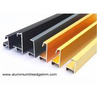 Buy cheap Anodized Brushed Metal Picture Frames Wholesale / Photo Or Snap Frame Mouldings from wholesalers