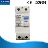 Buy cheap AC Residual Current Current Limiting Circuit Breaker 2 Pole Plastic Texture from wholesalers