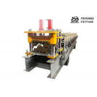 Buy cheap Popular Metal Roof Roll Forming Machine 0.3 - 0.8mm Thickness With Hydraulic Cutter from wholesalers