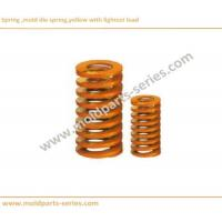 Buy cheap Spring, Mold Die Spring, OEM ODM Spring, Yellow with lightest load, item DF from wholesalers
