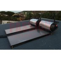 Buy cheap Pressure Blue Titanium Flat Plate Solar Geysers Flat Panel Solar Collector from wholesalers