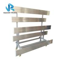 Buy cheap Heavy Duty Aluminum Stadium Bleachers Telescopic Audience Stand Indoor / Outdoor Sports Seats from wholesalers