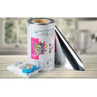 Buy cheap Metalized Packaging Plastic Roll Film VFFS Film Roll For Snack / Coffee / Candy from Wholesalers