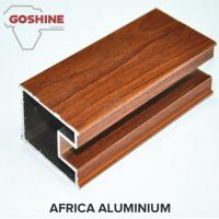 Buy cheap Third - Dimension Wood Finish Aluminium Profiles Solid Substantial product