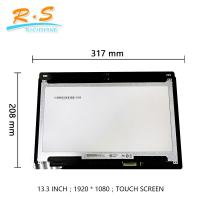 Buy cheap 13.3 Inch FHD B133HAB01.0 touch screen lcd panel for Dell Inspiron13 5368 and 7368 from wholesalers