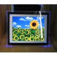 Buy cheap Video / Audio / Photo 15 Inch Personalized Digital Photo Frame With LED Light from wholesalers