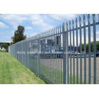 Buy cheap Custom Euro Style Metal Palisade Fencing Anti Vandal Park Guardrail from wholesalers