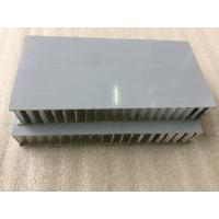 Buy cheap White PVDF / FEVE Paint Aluminium Honeycomb Composite Panel Sound Insulation  product