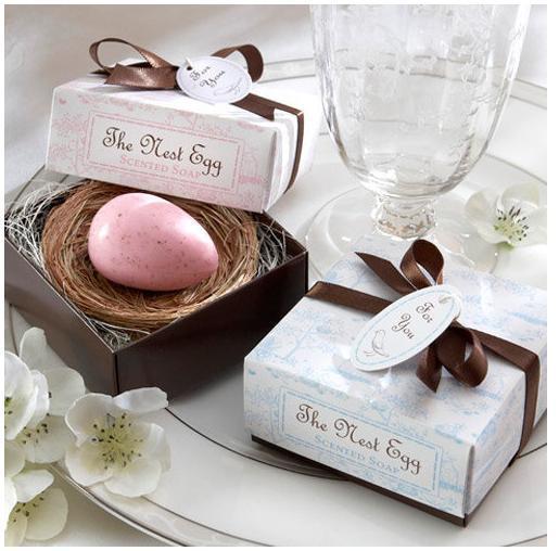 Quality Nest Egg Scented Egg Soap Wedding Favor for sale