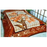 Buy cheap Brown Soft Polyester 2 Ply Mink Blanket Sheet Adult For Home Bedding from wholesalers