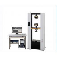 Buy cheap Tensile Universal Testing Machine / Strength Testing Machine For Leather Rubber Plastic from wholesalers