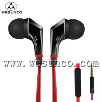Buy cheap Flat cable earphone for mobile Phone from wholesalers