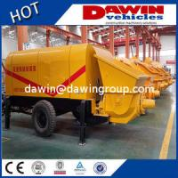 Buy cheap 60m3 80m3/H Large Trailer Concrete Pump with Elctric or Diesel Power Manufacturer from wholesalers