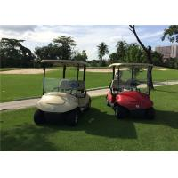 High Speed Electric Motor 2 Seater Golf Carts Two Seat