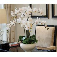 Buy cheap Wholesale Potted Orchids Artificial Flower Arrangements from wholesalers