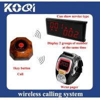Buy cheap Wireless Call System For Restaurant Service from wholesalers