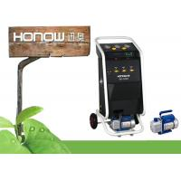 Buy cheap -L180A Car r134a A/C refrigerant recycling and recharge manual machine from wholesalers