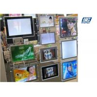 Buy cheap Ceiling Hanging Magnetic Light Box Slim Clear Frame Double Sided Indoor Advertising product