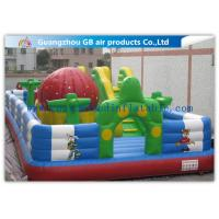 Buy cheap Kids Inflatable Amusement Equipment / Commercial Inflatable Bouncers For Learning Center from wholesalers