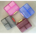 Buy cheap Storage Organizer 6 Compartments smart pill box  organiser/ dispenser customer logo from wholesalers