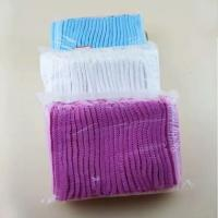 Buy cheap Disposable Non Woven Clip Caps , Pink Color And Light Weight from wholesalers