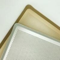 Buy cheap Perforated Wire Mesh Baking Tray Food Grade Stainless Steel Made from wholesalers
