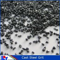 Buy cheap High carbon shot blasting metal abrasive cast  steel grit GL18 from wholesalers