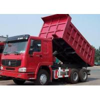 Buy cheap China Best Dump Truck Sinotruk HOWO Series Tipper Truck 6*4 ZZ3257N3441 With Best Price and Good Quality For Sales from wholesalers