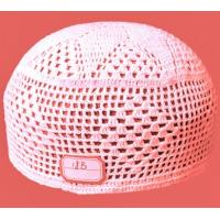 Buy cheap muslim pure cotton crochet cap-18B from wholesalers